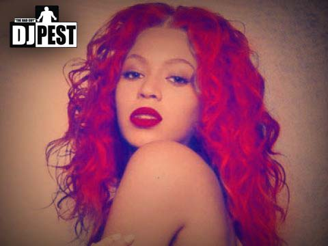 beyonce red hair rihanna