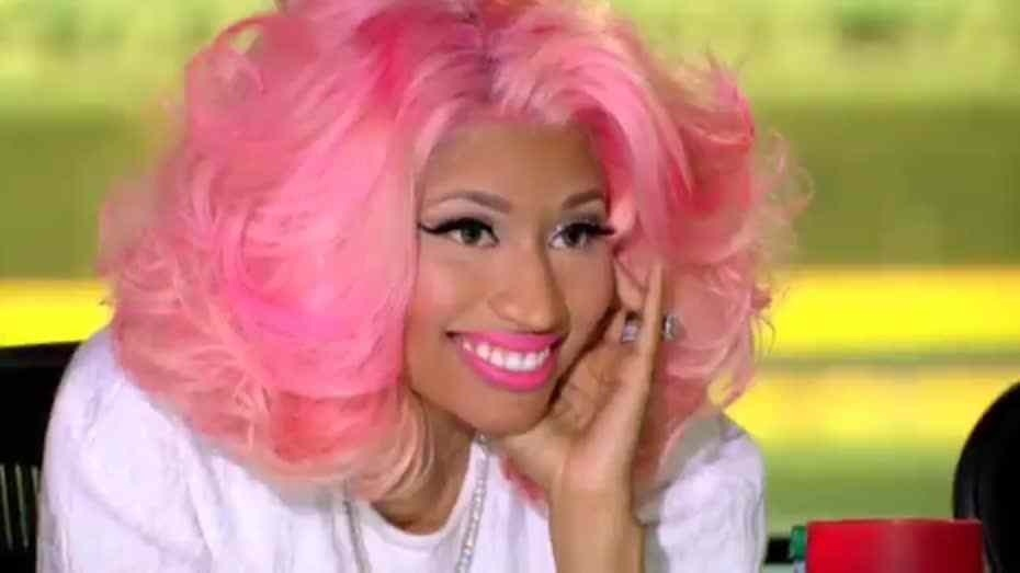 Photos Damn Nicki Minaj Shows Off Her Real Hair And It