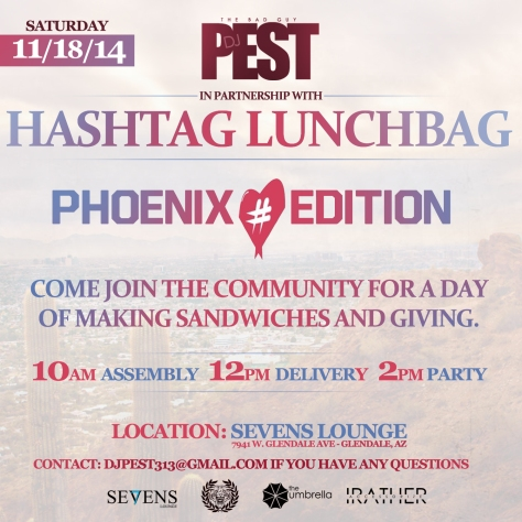 HASHTAG LUNCHBAG FLYER