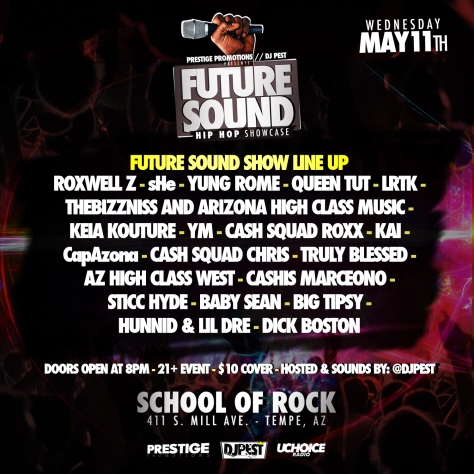 Future Sound show line up